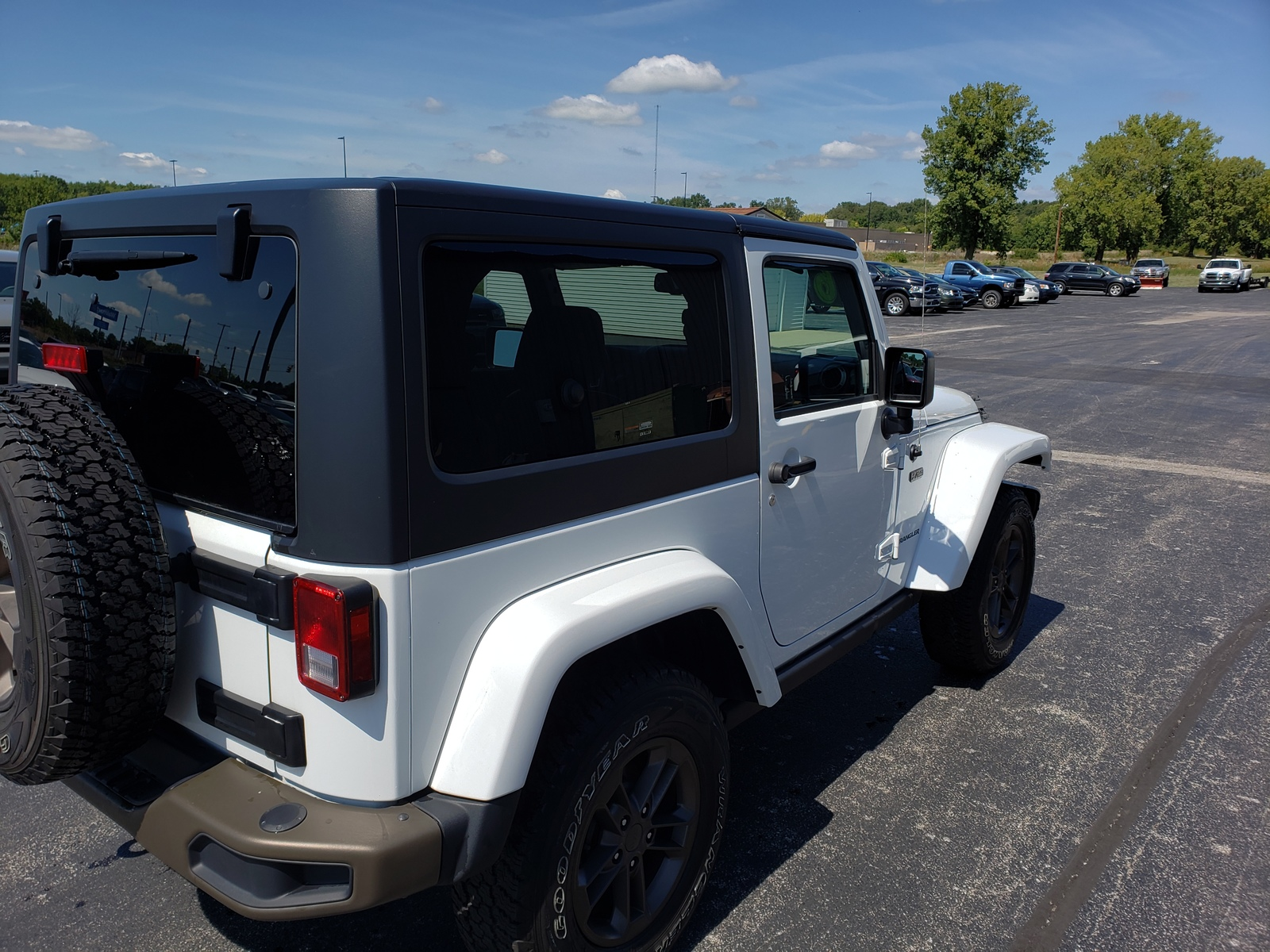 Pre-Owned 2016 Jeep Wrangler 4WD 2dr 75th Anniversary