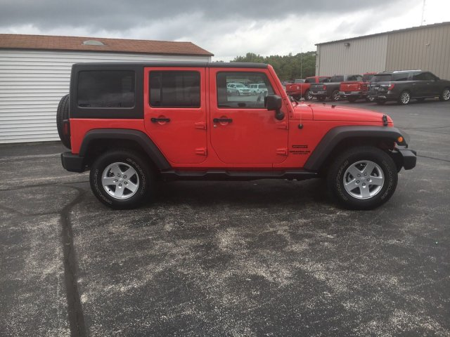 Certified Pre-Owned 2015 Jeep Wrangler Unlimited Sport