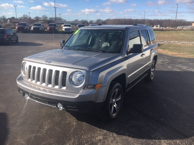 CERTIFIED PRE-OWNED 2016 JEEP PATRIOT HIGH ALTITUDE EDITION 4WD SPORT UTILITY