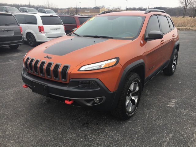 Certified Pre Owned 2016 Jeep Cherokee Trailhawk