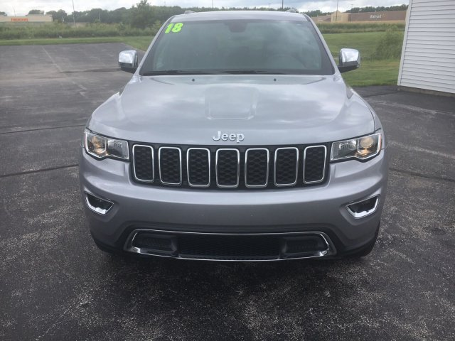 Certified Pre-Owned 2018 Jeep Grand Cherokee Limited 4x4