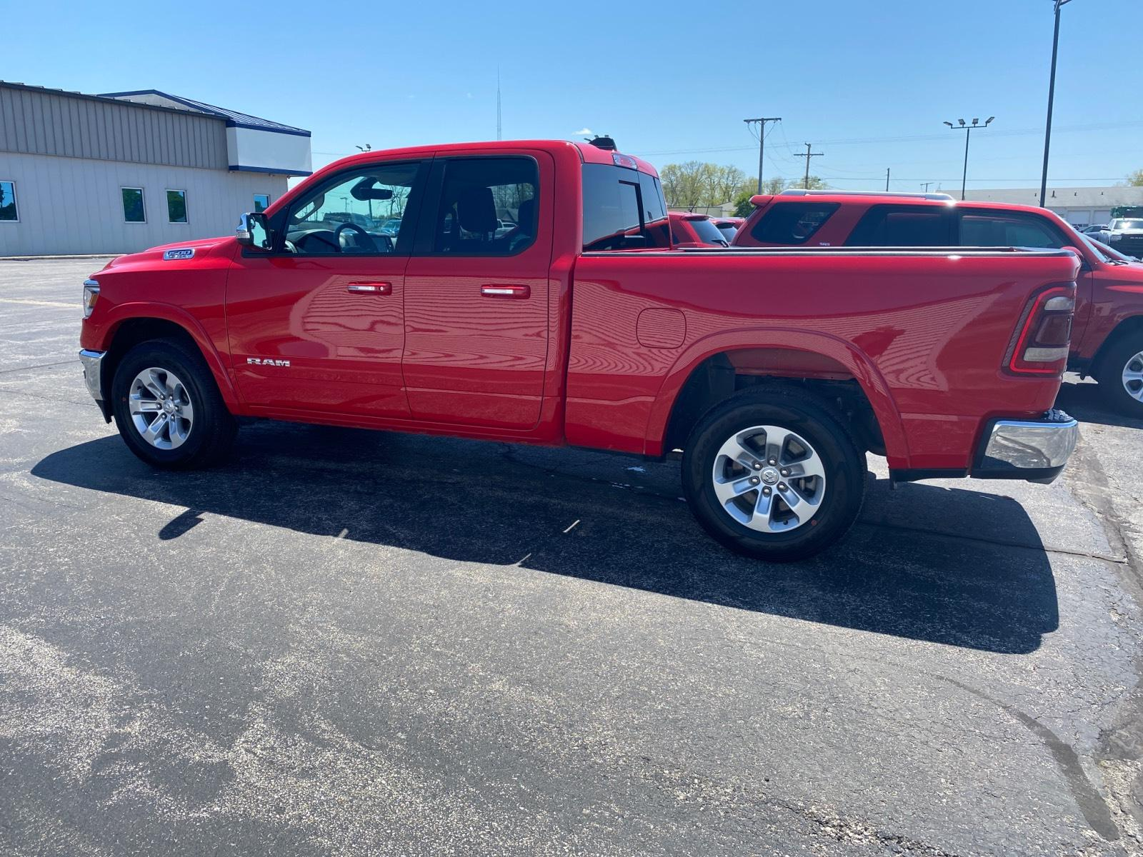 Certified Pre-Owned 2020 Ram 1500 Laramie 4x4 Quad Cab 6'4 Box
