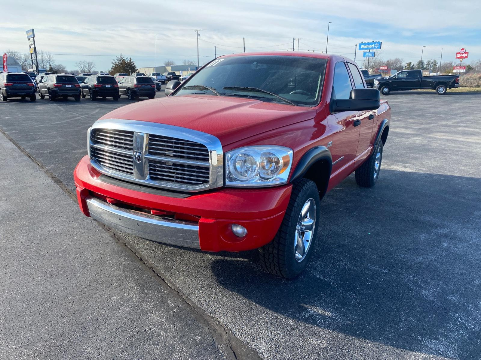 Pre-Owned 2007 Dodge Ram 1500 4WD Quad Cab 140.5 Laramie