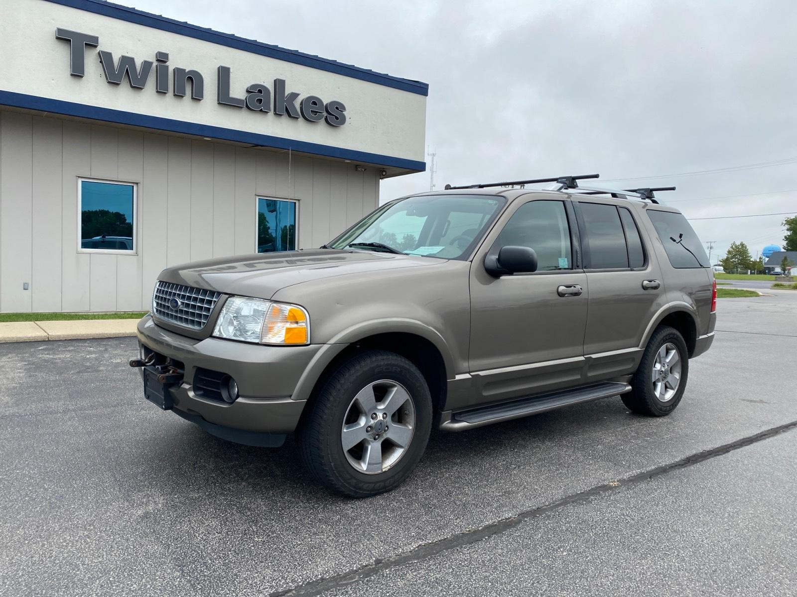 Pre-Owned 2003 Ford Explorer 4dr 114 WB 4.6L Limited 4WD