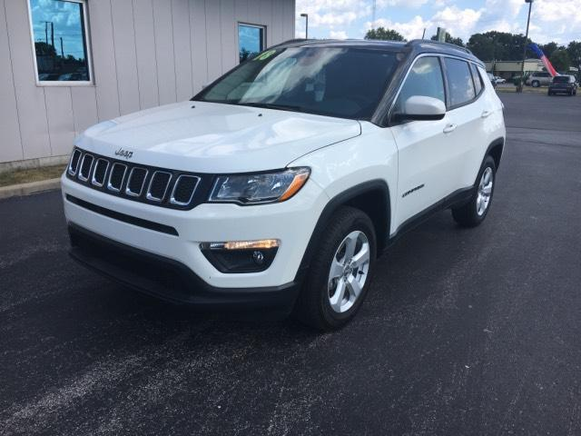 Certified Pre-Owned 2018 Jeep Compass Latitude 4x4