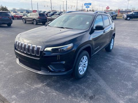 New 2020 JEEP Cherokee Latitude 4x4