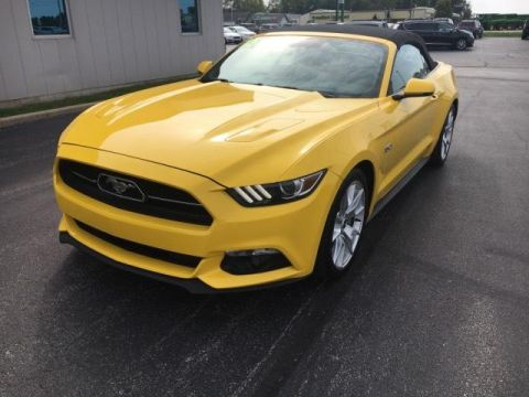 Pre-Owned 2015 Ford Mustang 2dr Conv GT Premium