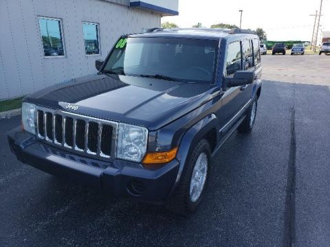Pre-Owned 2008 Jeep Commander 4WD 4dr Sport