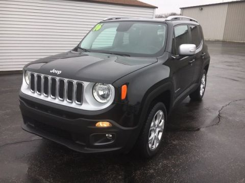 Certified Pre-Owned 2016 Jeep Renegade 4WD 4dr Limited