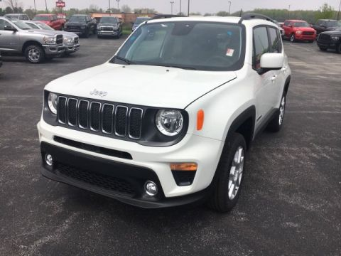 Pre-Owned 2019 Jeep Renegade Latitude 4x4